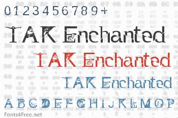 TAK Enchanted Font