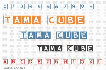 Tama Cube Font