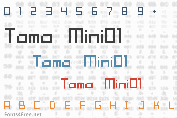 Tama Mini01 Font