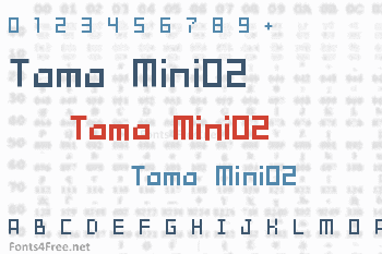 Tama Mini02 Font