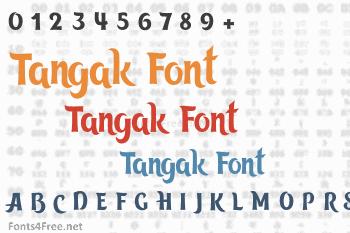 Tangak Font