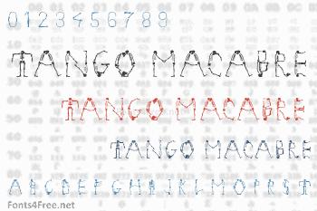 Tango Macabre Font
