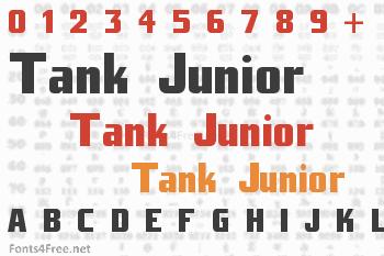 Tank Junior Font