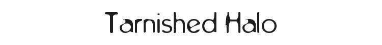 Tarnished Halo Font
