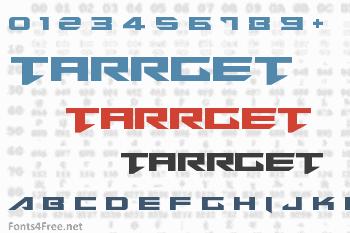 Tarrget Font