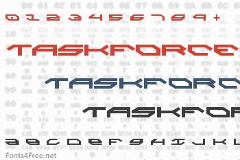 Taskforce Font