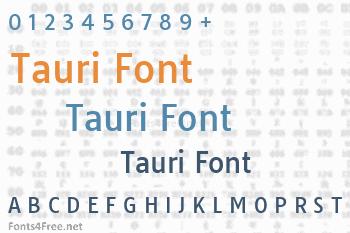 Tauri Font