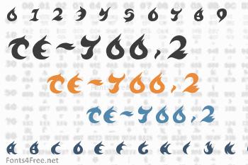TE-700.2 Font