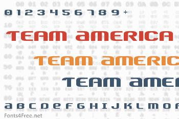 Team America Font
