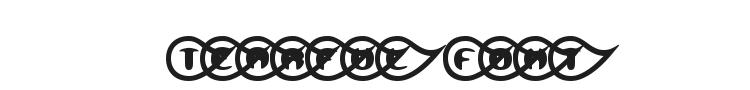 Tearful Font