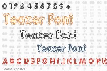 Teazer Font