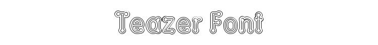 Teazer Font Preview