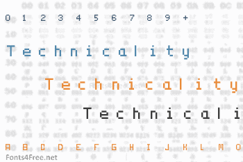 Technicality Font