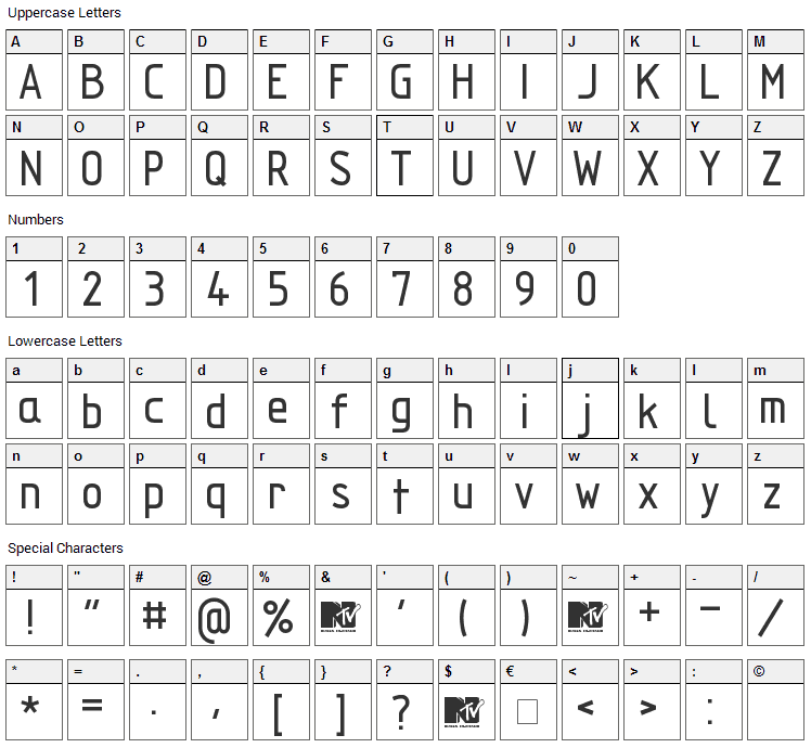 Techniczna Pomoc Font Character Map