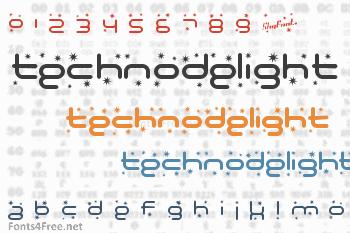 Technodelight Font