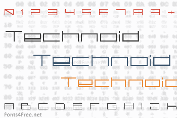 Technoid Font