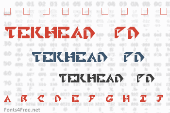 Tekhead PD Font