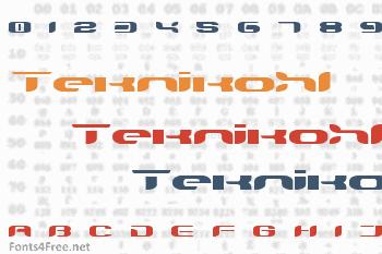 TeknikohlRemix Font
