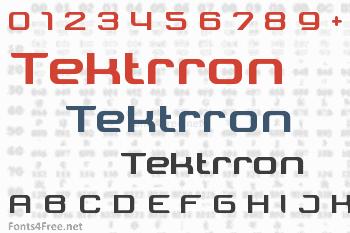 Tektrron Font