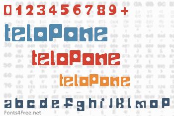 Telopone Font