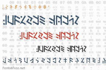 Temphis Brick Font