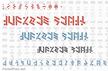 Temphis Dirty Font