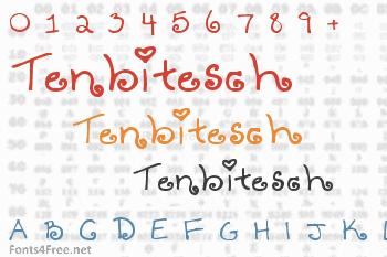 Tenbitesch Font