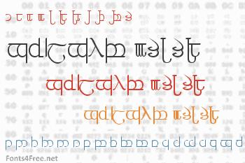 Tengwar 3+4+5 Font