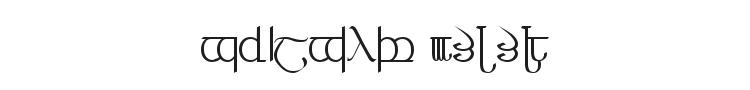 Tengwar 3+4+5 Font Preview