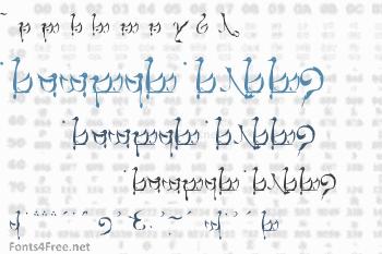 Tengwar Teleri Font