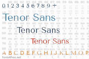 Tenor Sans Font