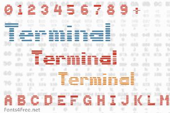 Terminal Font