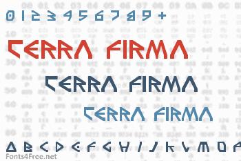 Terra Firma Font