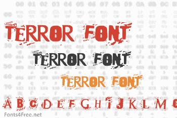 Terror 2005 Font