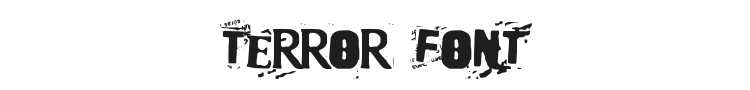 Terror 2005 Font Preview