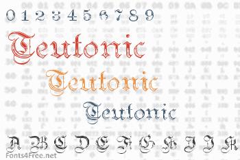 Teutonic Font