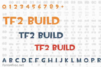 TF2 Build Font