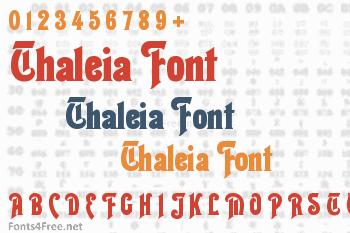 Thaleia Font
