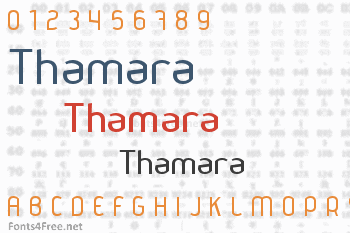 Thamara Font