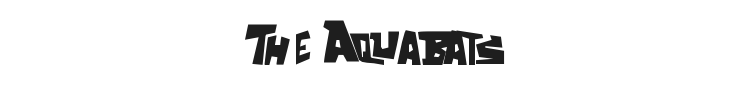 The Aquabats Font Preview