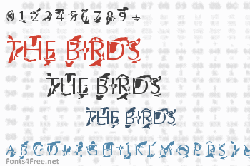 The Birds Font