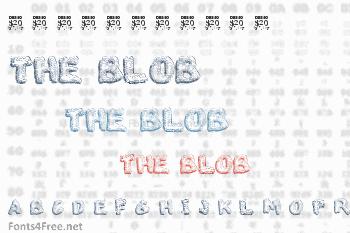 The Blob Font