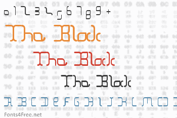 The Block Font