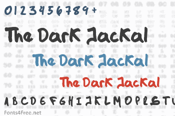 The Dark Jackal Font