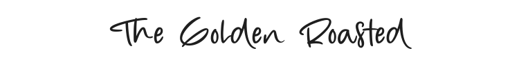The Golden Roasted Font Preview