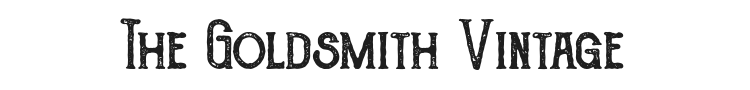 The Goldsmith Vintage Font Preview