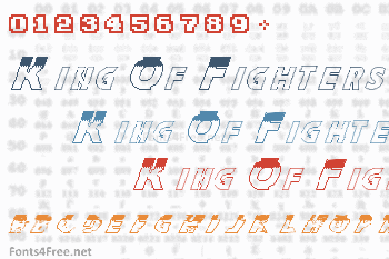 The King Of Fighters Family Font