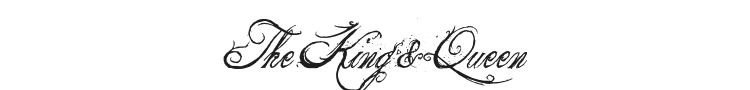 The King & Queen Font Preview
