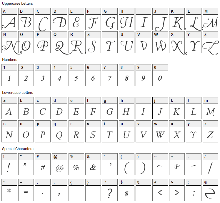 The Last Font Im Wasting On You Font Character Map