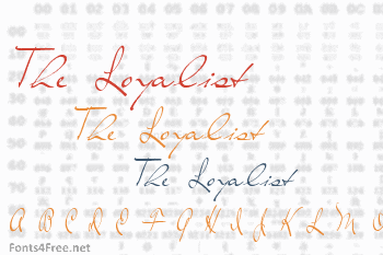 The Loyalist Font